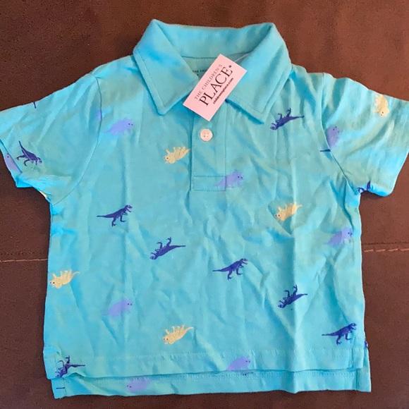 Children dinosaur shirt size 9-12 months old